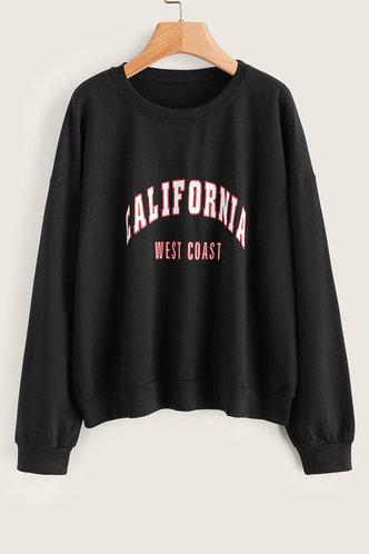 front_Xenophon Black Sweatshirt
