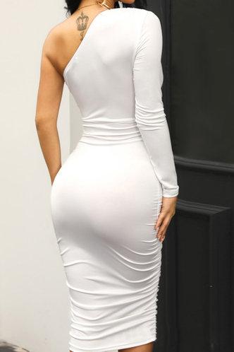 back_Plain  White Maxi Dresses