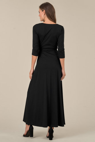 back_Mia Black Maxi Dress