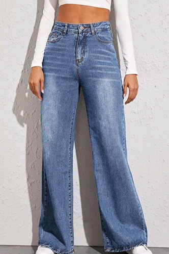 front_Angelina Blue Baggy Jeans