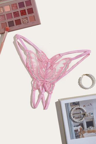 front_Lillian Eden Pink Panty