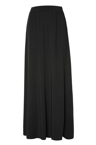 back_To The Maxi Black Skirt
