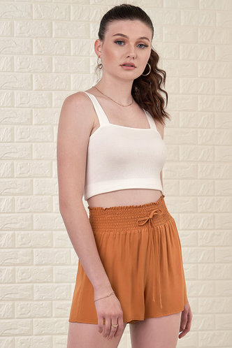 front_Gingersnap {Color} Shorts