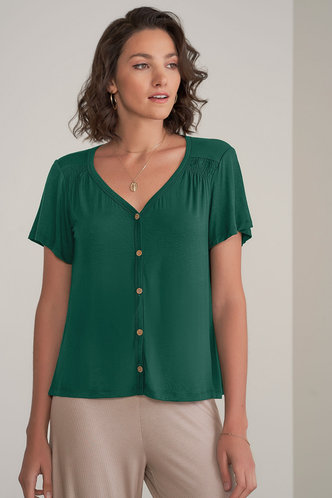 front_Joy and Bliss {Color} Short Sleeve Top