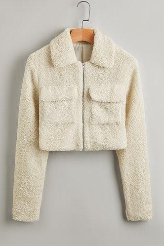 front_Kada Fashion Beige Outerwear