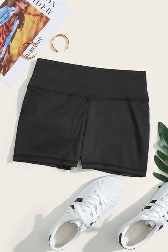 back_Sheila Edith Black Activewear Bottom