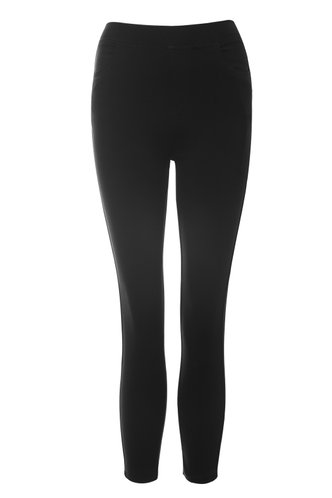 front_I Like Me Better Black Stretch Jeggings
