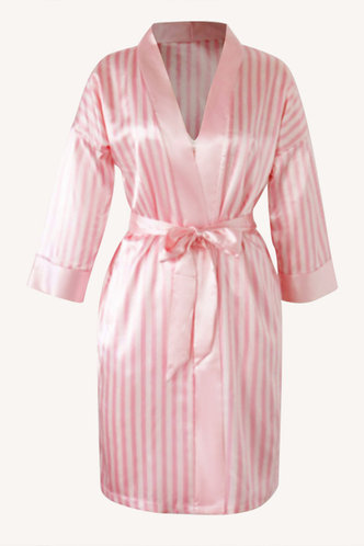 back_Theodora Elma Pink Plaid Set