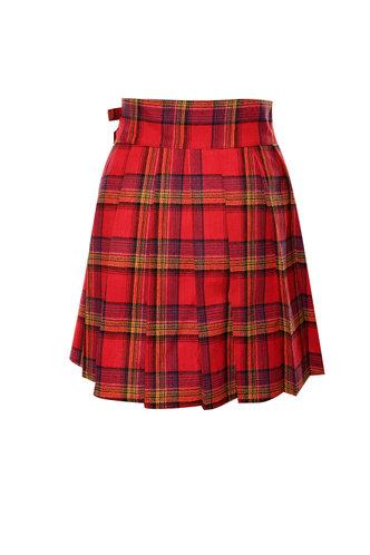 back_Totally Tartan {color} Skirt