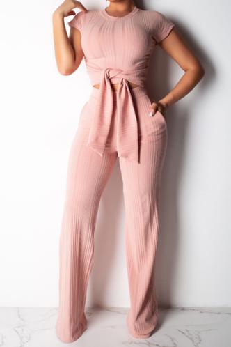front_Eulalia Elvira Coral Pink Set