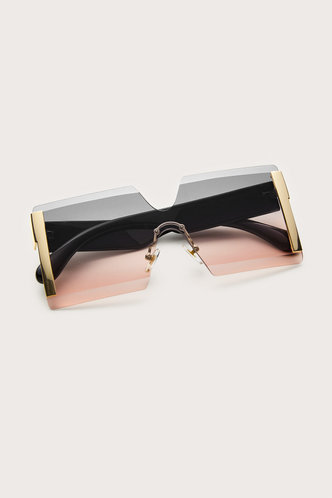 back_Grey And Pink Glasses & Eyewear accessories