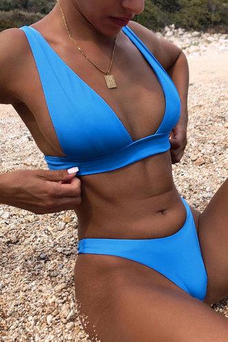 front_Irma Elaine Pool Blue Bikini