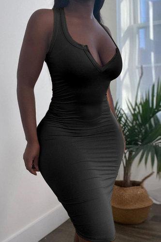 front_Germaine Eve Black Dress