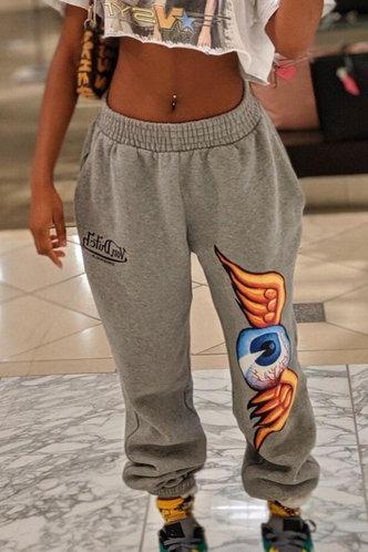 front_Lisbeth Eudora Grey Sweatpants