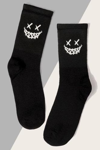 front_Adelina Erica Black Sock & Tight