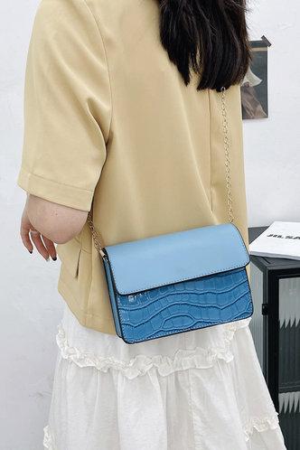 back_Evelyn Pepian Blue Crossbody Bag