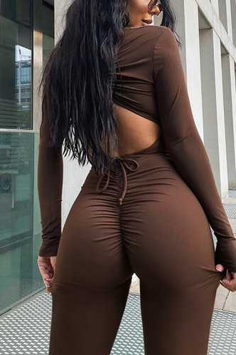 back_Angell Eartha Brown Jumpsuit