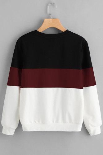 back_Hug Me Tight Multicolor Colorblock Sew Sweatshirt