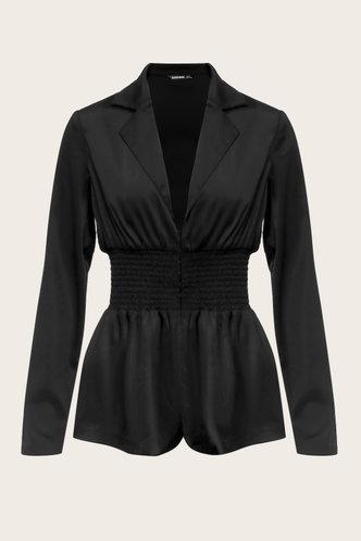 front_Bella Edith Black Outerwear