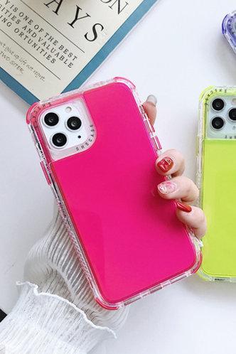 front_Patchwork Letter Rose Pink Cases