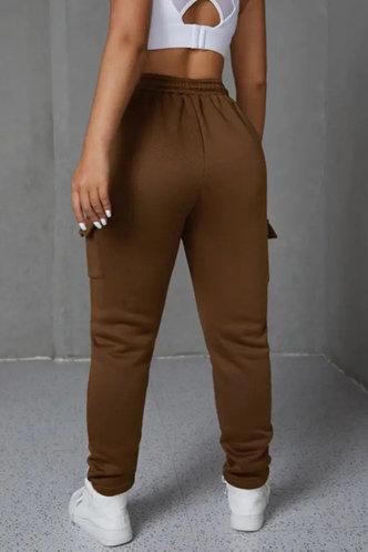 back_Romaine Fiskan Brown Pants