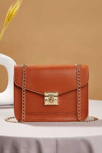 front_Tessa Erica Brown Crossbody Bag