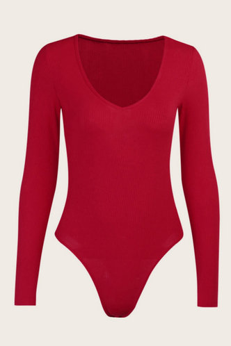 back_Adela Eve Red Bodysuit