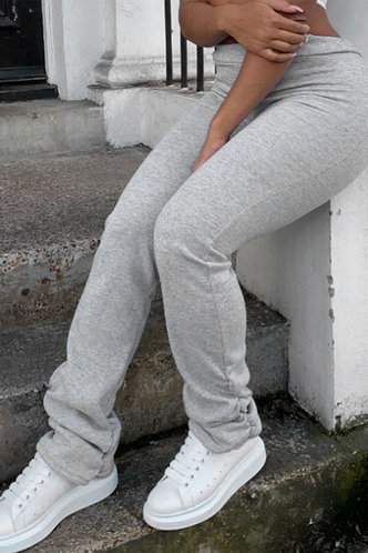 back_Delia Edith Light Grey Pants