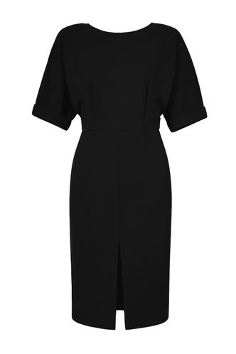 back_Epoch Black Midi Dress