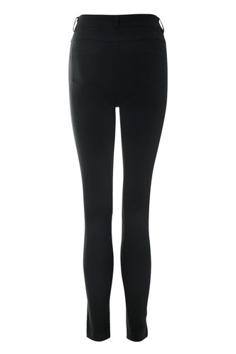 back_Danger Zone Black Skinny Jeans