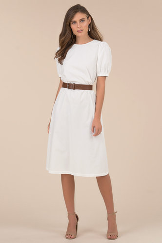 front_Simplicity {color} Midi Dress
