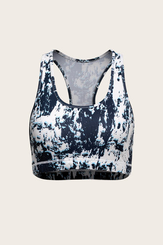 front_Beatrice Multicolor Activewear Top