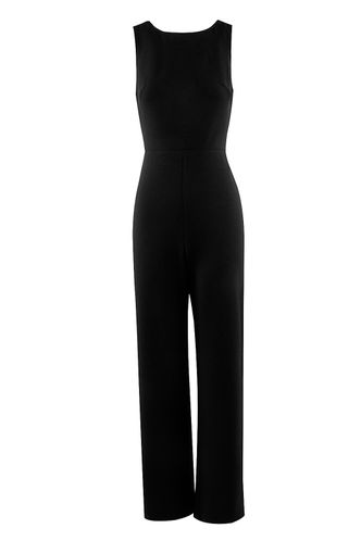 back_Beautiful Grazy Black Jumpsuit