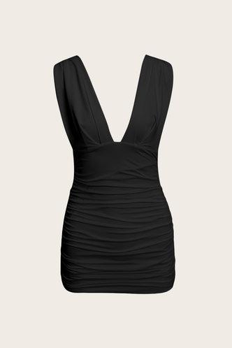 back_Nettie Elizabeth Black Plus Bodycon Dress