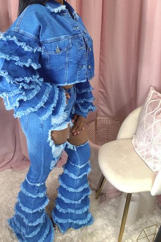 front_Jillian Eudora Wash Blue Jacket