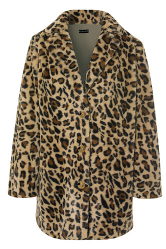 front_So Extra {color} Teddy Coat