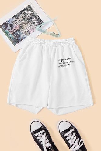 back_Mignon Elva Off White Shorts