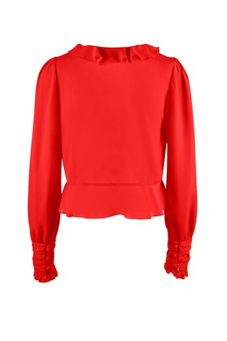 back_Poppy {Color} Long Sleeve Top
