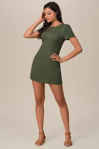 front_Way We Love {Color} Mini Dress