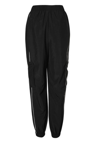 front_All Star Black Cargo Joggers