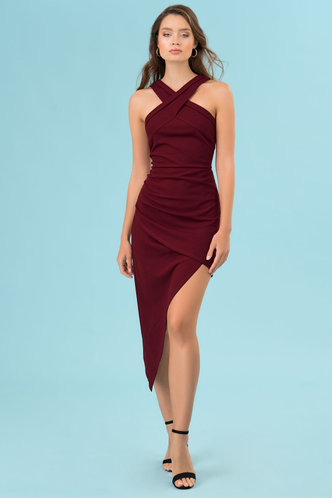 front_Main Squeeze {Color} Bodycon Dress