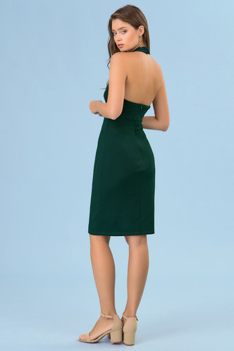 back_Hailey {color} Midi Dress