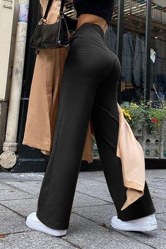 front_Sheila Eden Black Wide Leg Trousers