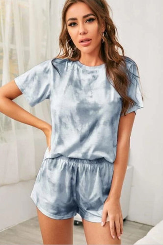front_Esta Grey And Grey Blue Loungewear Sets