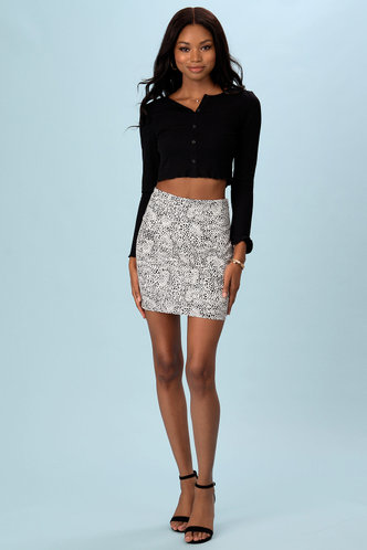 front_Find A Way {Color} Skirt