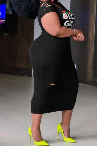 back_Carlotta Eve Black Plus Bodycon Dress