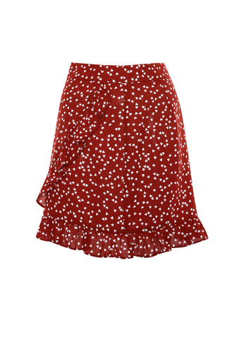 front_Frilly {color} Skirt