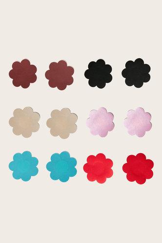 front_Victoria Emma Multicolor Nipple Cover 6pairs