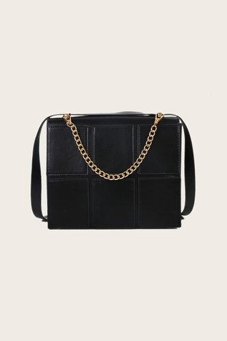 back_Holly Enid Black Crossbody Bag
