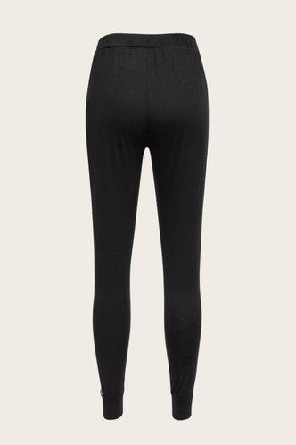 back_Wildly Cozy  Black Pants